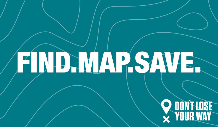 Find. Map. Save.