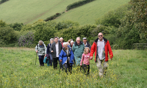 Walking group in Cornwall