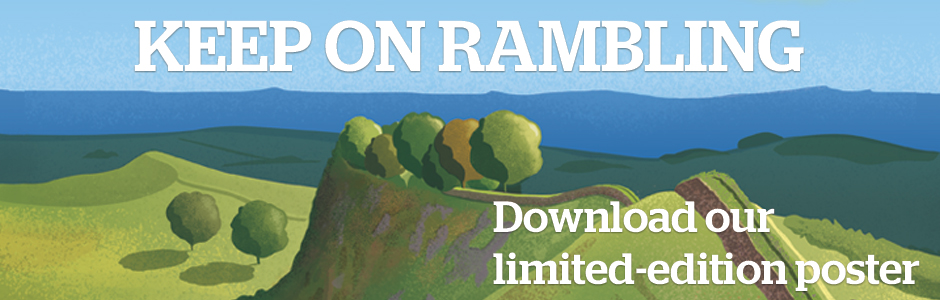 Keep on rambling - download our limited-edition poster