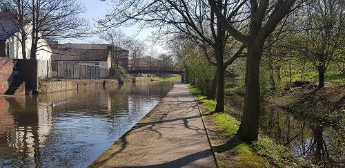 Nottingham canal walk