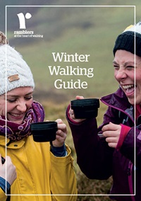 Cover of the Ramblers Winter Walking Guide