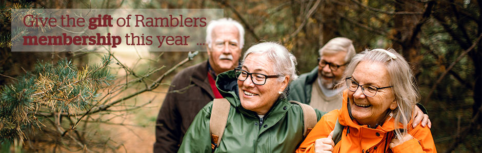 Give the gift of Ramblers membership this year