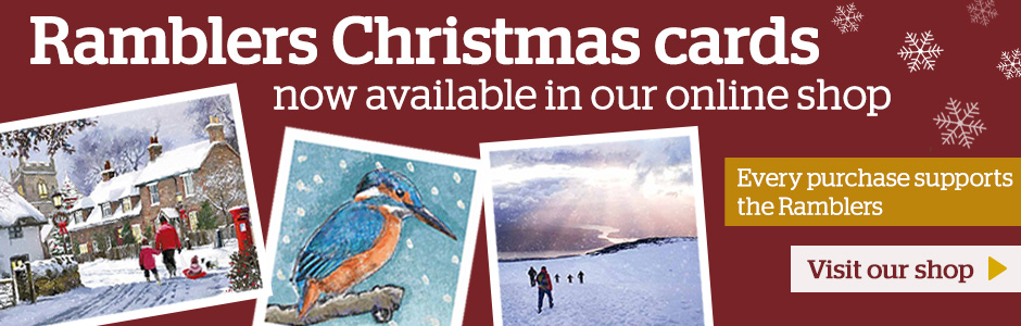 Ramblers Christmas cards now available