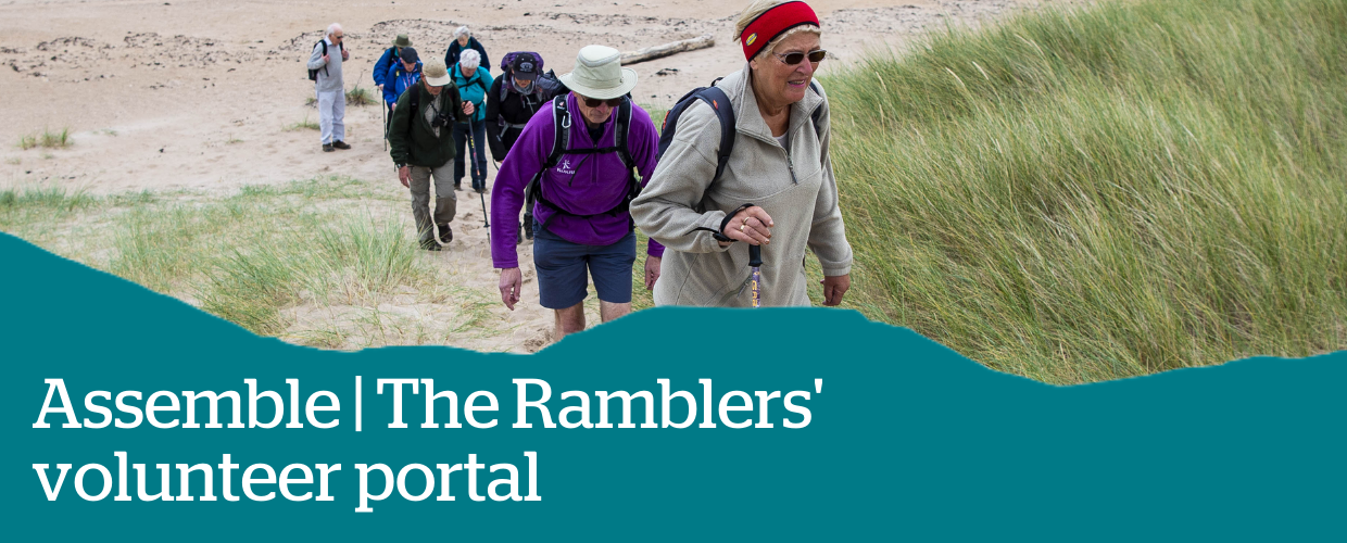 Assemble The Ramblers Volunteer Portal