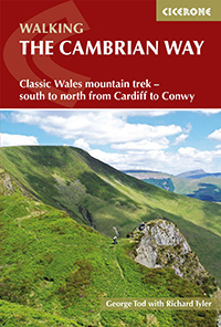 Cover of the guide book The Cambrian Way