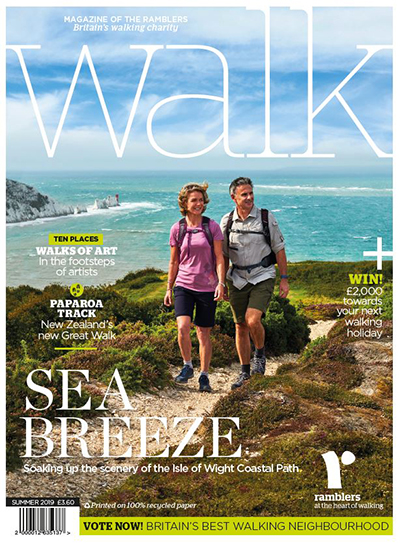 Cover of Walk Summer 2019