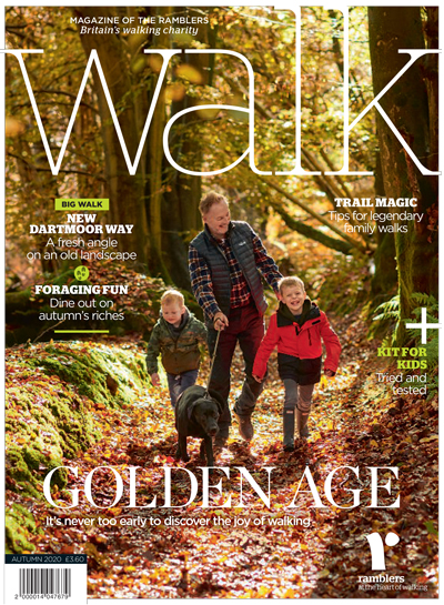 Cover of Walk autumn 2020