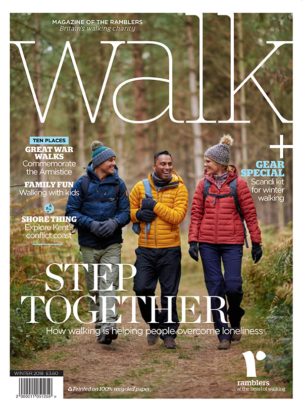 Cover of Walk winter 2018