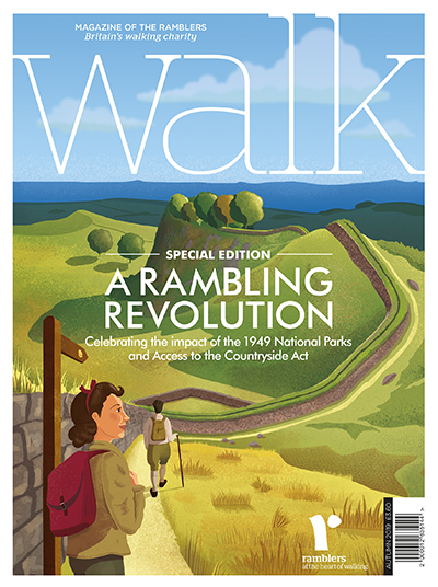 Cover of Walk Autumn 2019