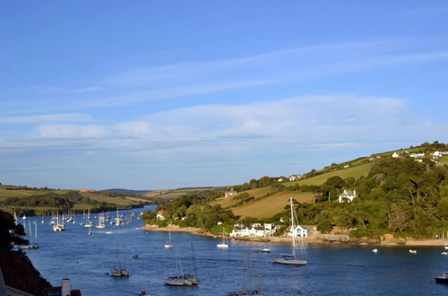 View of Salcombe estuary