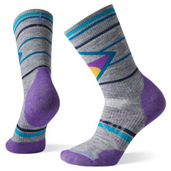 Pair of colourful, blue,grey and pink socks