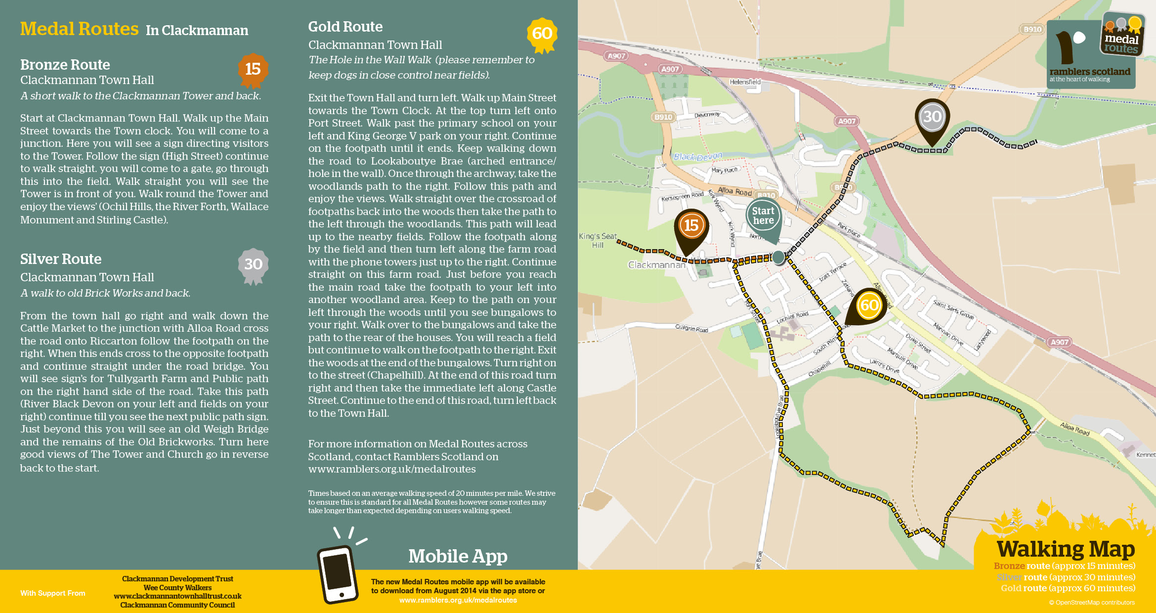 Find Medal Route Walks Ramblers - Map your walking route