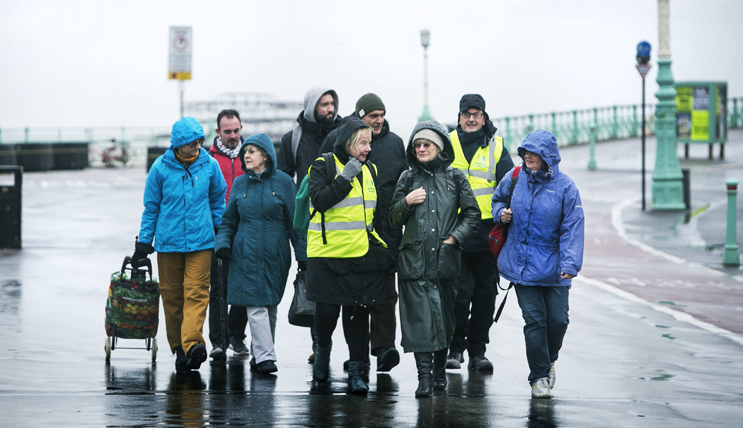 Walking for Health in Brighton
