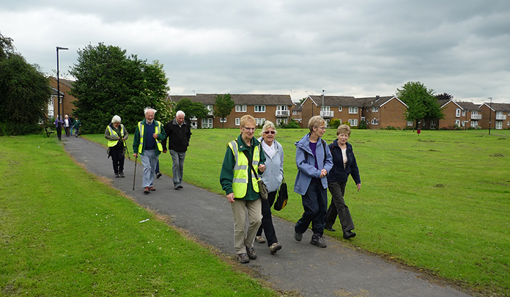Woodhouse 70 walking for health