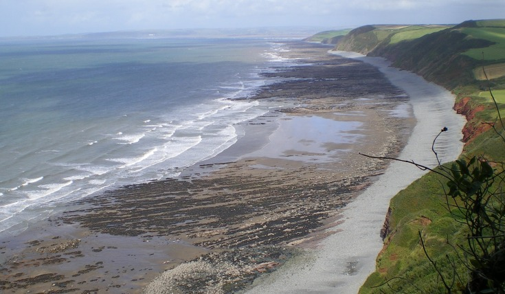 image of the Devon coast