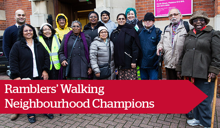 Ramblers' Walking Neighbourhood Champions