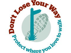 Don't Lose Your Way logo