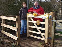 50th 'Donate a Gate' installed on Isle of Wight
