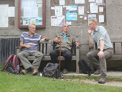 Benedict Southwork chats to walkers in Edale about the future of the outdoors