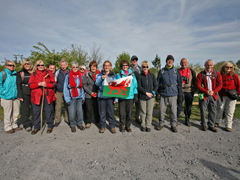 Big Welsh Walk walkers