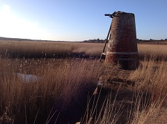 Derelict Wind Pump on the marshes near Walberswick