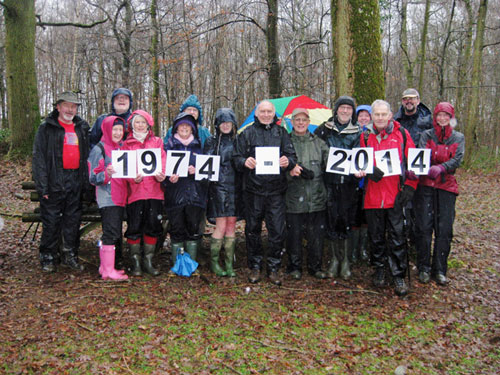 Cirencester Ramblers 40th anniversary walk