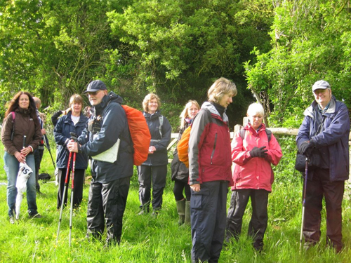 Cirencester Ramblers Saturday Farm walk