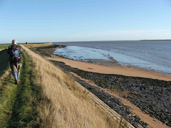 Coastal walk on the Dengie Peninsula