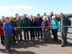 Cumbria coast path launch