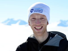 Dr Andrew Murray in Antarctica
