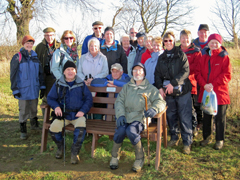 Festival of Winter Walks - Grantham Ramblers walk