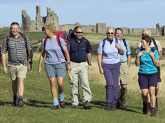 HF Holidays walking group