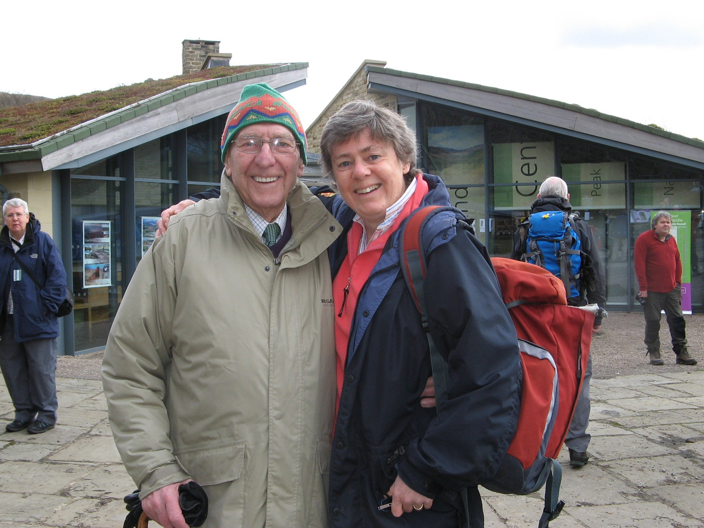 John Bunting Ramblers vice president with Kate Ashbrook