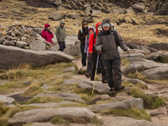 Kinder Scout walkers