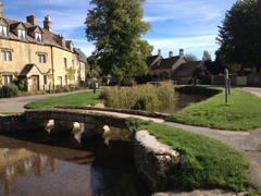 Lower Slaughter, the Cotswolds