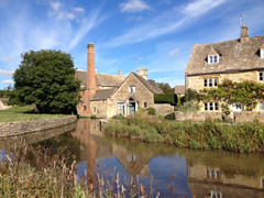 Mill at Lower Slaughter, the Cotswolds