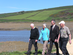 Culture Minister walks Kidwelly