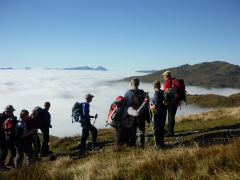 Above the clouds on Beinn Ghlas