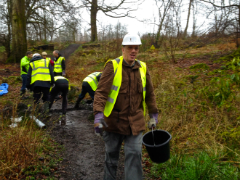 Path Maintenance day, Milngavie