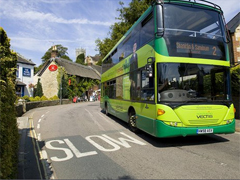 Southern Vectis bus Isle of Wight