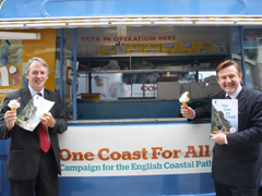Huw Irranca-Davies and Barry Gardiner with The Case for Coast