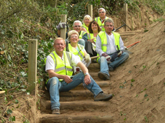 Path maintenance volunteers