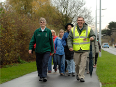 Walking for Health group in Grimsby
