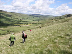 Walking in Edale