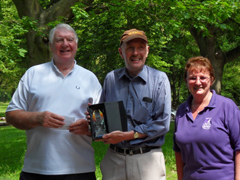 The Walsall Ramblers recieve the Cannock Chase AONB Volunteer of the Year Award