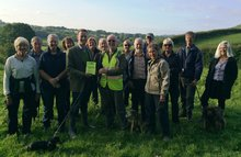 Greg Barker MP walks with Battle Ramblers