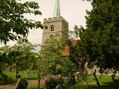 Widford Church, Hertfordshire