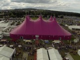 view of the Eisteddfod