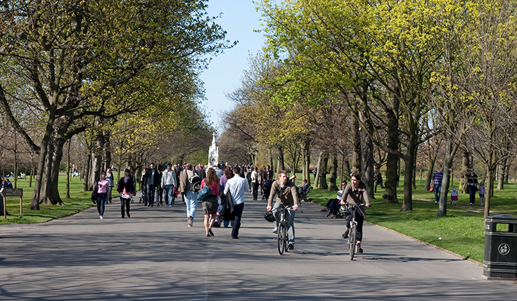Active travel in cities