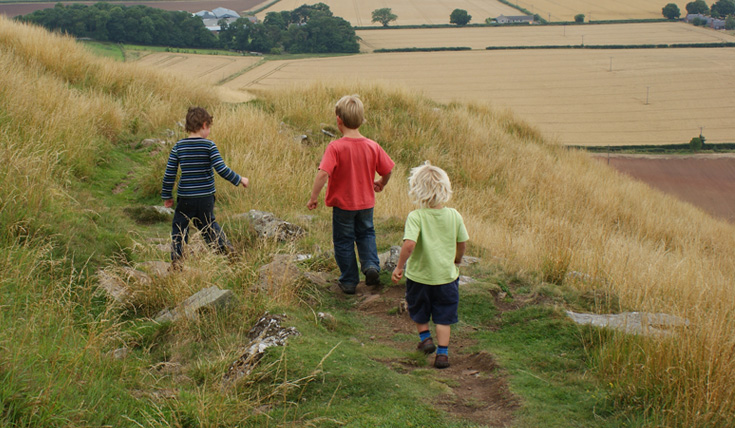 Lothian and Borders family walkers